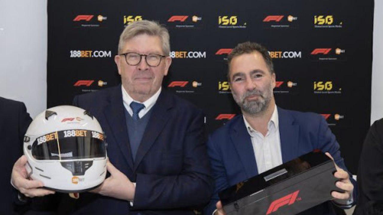 188BET menjadi mitra taruhan resmi F1 di Asia